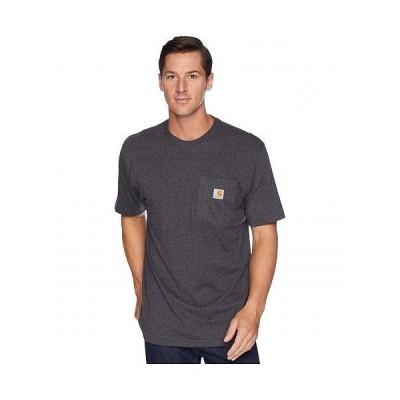Carhartt カーハート メンズ 男性用 ファッション Tシャツ Workwear Pocket S/S Tee K87 - Carbon Heather