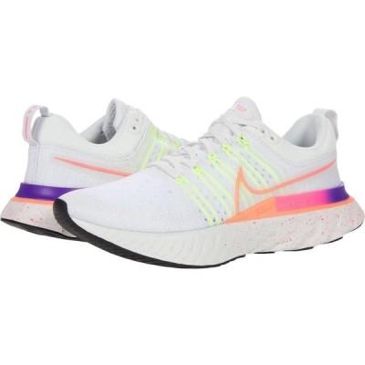 ナイキ Nike レディース ランニング・ウォーキング シューズ・靴 React Infinity Run Flyknit 2 Platinum Tint/Bright Mango/Hyper Pink