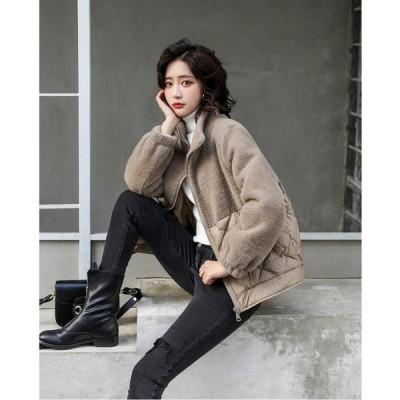 チェスターコート レディース キレイめ ミディアム丈コート スプリングコート 暖かい 立ち襟 アウター 韓国風 アウター 20代 30代 40代 新作 ダウンコート