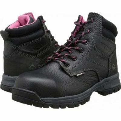 ウルヴァリン Wolverine レディース ブーツ シューズ・靴 Piper Waterproof Composite Toe 6 Boot. Black