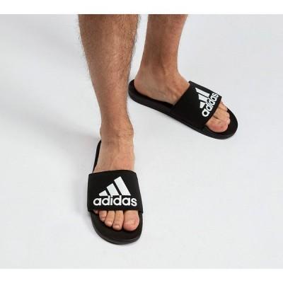 アディダス メンズ サンダル シューズ・靴 Adilette Cloudfoam Sandals Black / White