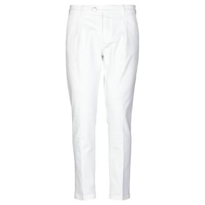 アントレ アミ ENTRE AMIS パンツ ホワイト 36 コットン 98% / ポリウレタン 2% パンツ
