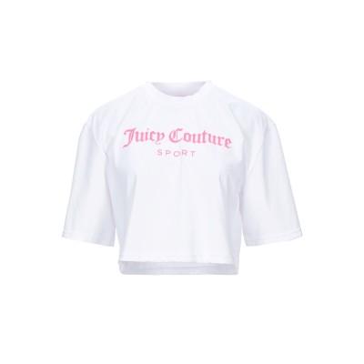 JUICY COUTURE SPORT T シャツ ホワイト S コットン 60% / ポリエステル 40% T シャツ