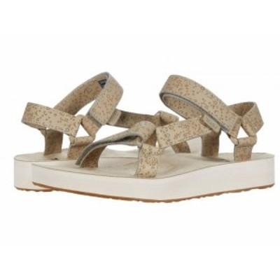 Teva テバ レディース 女性用 シューズ 靴 サンダル Midform Universal Star Plaza Taupe【送料無料】