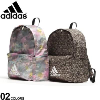 アディダス リュック adidas バック デイパック バックパック ロゴ 総柄プリント 背面メッシュ アプローズ 62734
