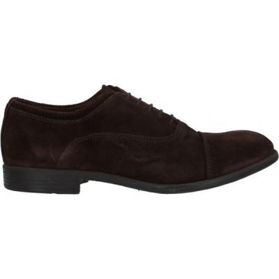 ハンドレッド 100 HUNDRED 100 メンズ ローファー シューズ・靴 Loafers Dark brown
