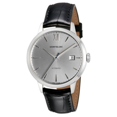 モンブラン MONTBLANC HELITAGE メンズ 時計 腕時計 並行輸入   自動巻 シルバー 111622