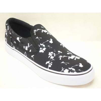 us 12 (30cm) DCシューズ TRASE SLIP-ON TX SP 201044-BWP BLACK DC  big-b