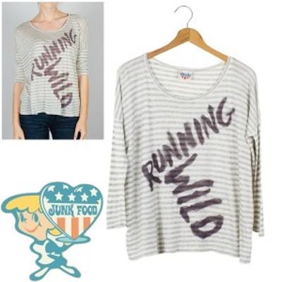 売り切りセール JUNKFOOD 大きいサイズ レディース Tシャツ トップス [j7263-5154][メール便可]