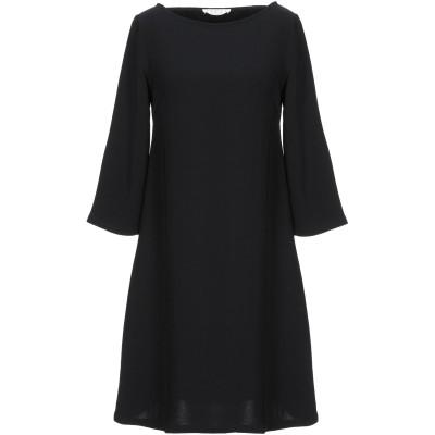 SIYU ミニワンピース&ドレス ブラック 36 レーヨン 95% / ポリウレタン 5% ミニワンピース&ドレス