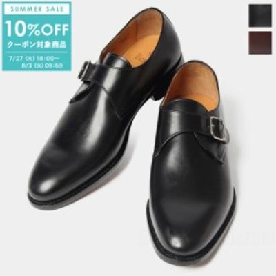 【SALE/10%OFFクーポン対象!8/3(火)09:59まで】バーウィック Berwick モンクストラップ ビジネスシューズ ドレスシューズ 靴 メンズ 革