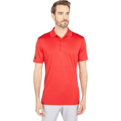 アディダス adidas Golf メンズ ポロシャツ トップス Performance Primegreen Polo Shirt Red
