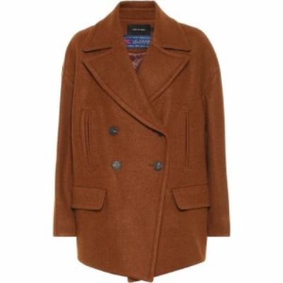 ロウ クラシック Low classic レディース コート アウター Wool-Blend Coat Brown