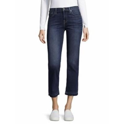 7 フォー オールマンカインド レディース パンツ デニム Whiskered Crop Boot Jeans