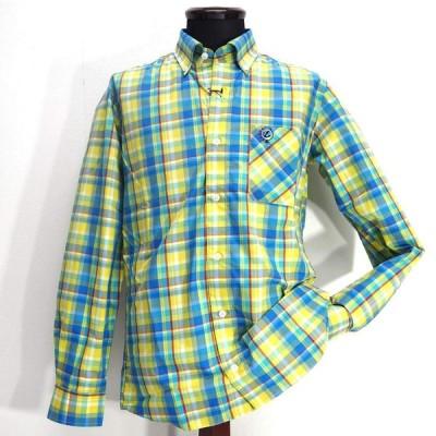 カプリ ボタンダウンシャツ 長袖 綿(コットン) M/L/LL メンズ ファッション 服 カジュアル 日本製 春夏 秋