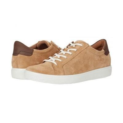 ECCO エコー レディース 女性用 シューズ 靴 スニーカー 運動靴 Soft Classic Sneaker - Cashmere/Coffee