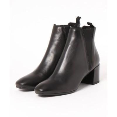 ブーツ FABIO RUSCONI(ファビオ ルスコーニ)/Vカット サイドゴア ショートブーツ