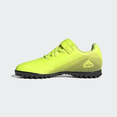 adidas (アディダス) エックス ゴースト.4 H&L TF J 19.0cm . ジュニア LGK63 FZ3749