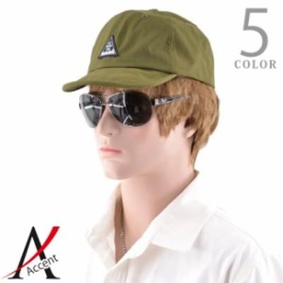 送料無料帽子 メンズ ワッシャー ナイロン 撥水加工 アンパイア キャップ ベージュ 黒 ブラック ネイビー オレンジ オリーブ カーキ メン
