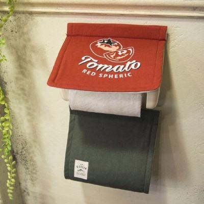 &Green ペーパーホルダーカバー TOMATO ( トイレットペーパー ペーパーカバー トイレ用品 ペーパーホルダー )