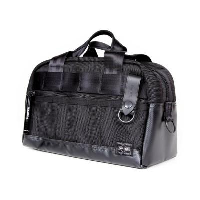 【カバンのセレクション】 吉田カバン ポーター ヒート ボストンバッグ メンズ レディース ブランド ミニ 小さめ A5 PORTER 703-06981 ユニセックス ブラック 在庫 Bag&Luggage SELECTION