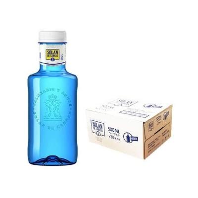 ソラン・デ・カブラス 【500ml PET×20本(1ケース) ブルーボトル】ペットボトル/スペイン/水/おしゃれボトル/ナチュラルミネラルウォーター