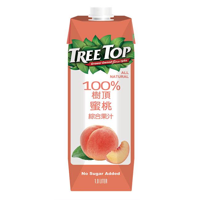 樹頂100蜜桃綜合果汁 1L