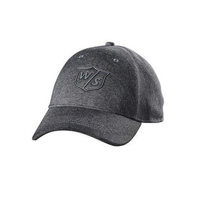 Wilson Staff One Touch Golf Cap, Charcoal Dark Grey