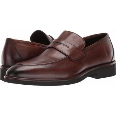 ジョンストンアンドマーフィー J&M Collection メンズ ローファー シューズ・靴 Ridgeland Penny Dark Brown