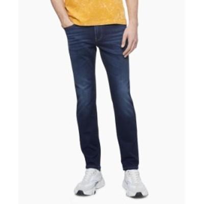 カルバンクライン メンズ デニムパンツ ボトムス Men's Slim-Fit Jeans Avedon Dark