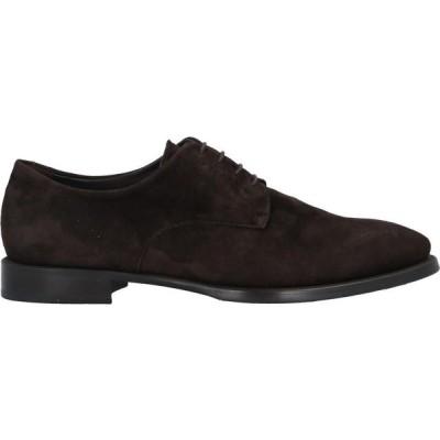 伊勢丹 ISETAN MEN'S メンズ 革靴・ビジネスシューズ シューズ・靴 Laced Shoes Dark brown