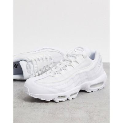 ナイキ Nike メンズ スニーカー エアマックス 95 シューズ・靴 Air Max 95 Essential In White ホワイト