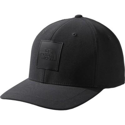 ノースフェイス 帽子 アクセサリー メンズ The North Face Men's Flexfit Logo Baseball Hat TNFBlack