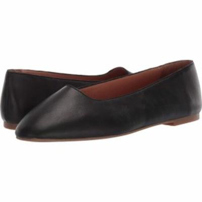 メイドウェル Madewell レディース スリッポン・フラット スクエアトゥ シューズ・靴 Corina Square Toe Flat True Black