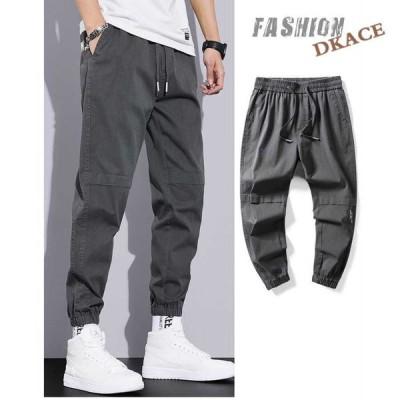 カーゴパンツ メンズ 夏 薄手 スエットパンツ ゆったり ボトムス 涼しいズボン ズボン スリム 作業着 ワークパンツ 無地 カジュアル 新品