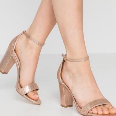 ドロシーパーキンス レディース サンダル SHOWCASE SWEET VAMP - High heeled sandals - rose gold