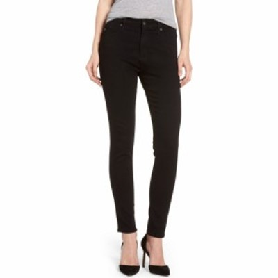 エージー AG レディース ジーンズ・デニム スキニー ボトムス・パンツ Farrah High Waist Ankle Skinny Jeans Super Black