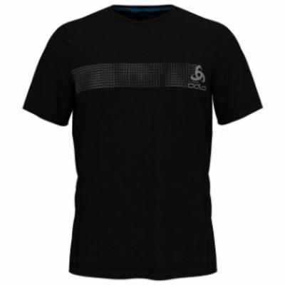odlo オドロ アウトドア 男性用ウェア Tシャツ odlo core-light-print
