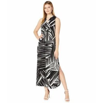 トッミーバハマ レディース ワンピース トップス Bangle Stripe Maxi Dress Sleeveless Black
