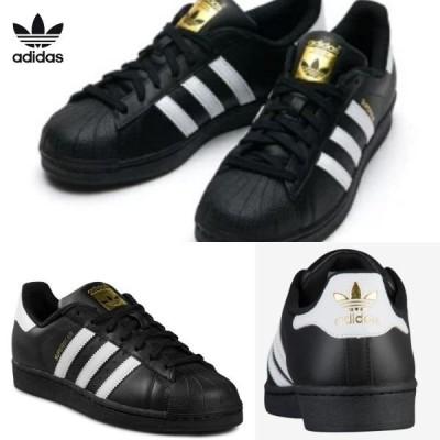 【adidas】Men's adidas Originals Super Star アディダス オリジナルス スーパースター【大きいサイズ】メンズ ローカット BLACK×WHITE×GOLD B27140