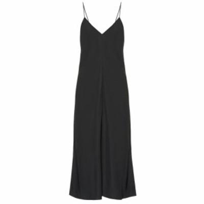 ザ ロウ The Row レディース ワンピース ワンピース・ドレス Gwen twill slip midi dress Dark Forest