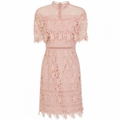 チチ Chi Chi レディース ボディコンドレス ワンピース・ドレス Crochet Bodycon Dress Pink