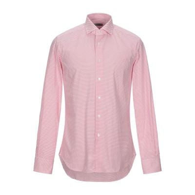 BATURO シャツ レッド 39 コットン 100% シャツ