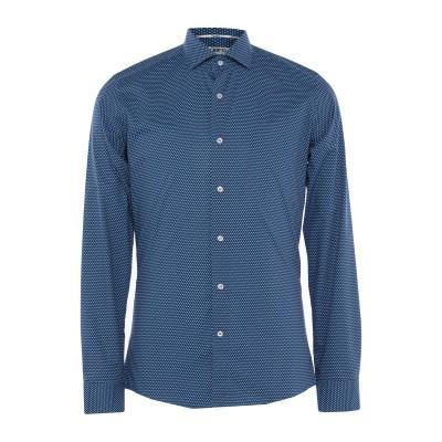 UNGARO シャツ ブルー 39 コットン 100% シャツ