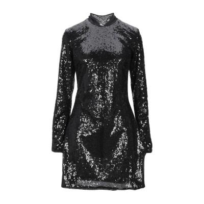 パロッシュ P.A.R.O.S.H. ミニワンピース&ドレス ブラック XS ポリエステル 100% / ポリ塩化ビニル ミニワンピース&ドレス
