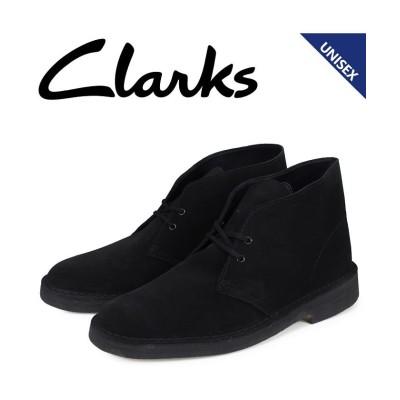 【スニークオンラインショップ】 クラークス Clarks デザートブーツ メンズ レディース DESERT BOOT スエード ブラック 26138227 [予約商品 1/21頃入荷予定 追加 ユニセックス その他 UK6.5-24.5 SNEAK ONLINE SHOP