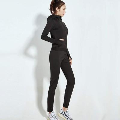 サウナ パンツ トレーニング レディース 9分丈 5倍 発汗 蓄熱 保温 脂肪燃焼 ダイエット 減量 脚やせ 洗える (黒