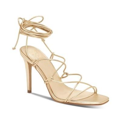 ヴィンスカムート サンダル シューズ レディース Women's Natola Strappy Dress Sandals Gold