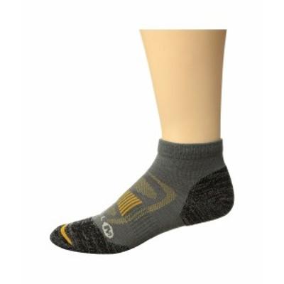 メレル メンズ 靴下 アンダーウェア Zoned Low Cut Light Hiker Sock Charcoal