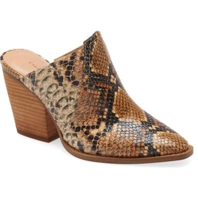 チャイニーズランドリー CHINESE LAUNDRY レディース サンダル・ミュール シューズ・靴 Beaute Mule Bronze/Tan Faux Leather